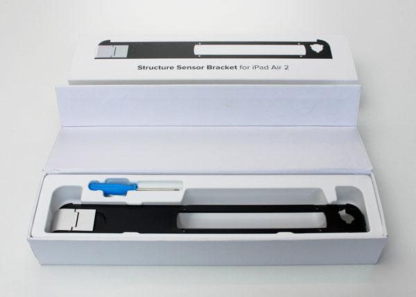 - bracket bento box - Structure Sensor 3D scanner review – The Gadgeteer