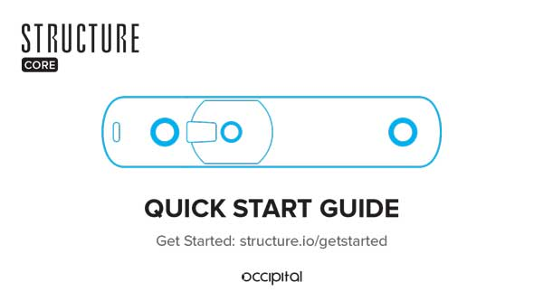 Structure Core Quick Start Guide